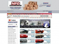 NPD Restoring American History | Mustang Parts | Camaro Parts | Chevelle Parts | Ford Truck Parts | T-Bird Parts | Firebird Parts