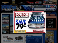 Minitruckinweb.com - Mini Trucks, Custom Lowrider and Pickup Truck Reviews and Accessories - Mini Truckin Magazine