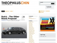 Theophiluschin.com - Theophilus Chin