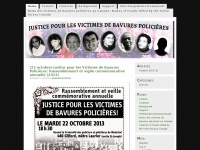 Justice Pour les Victimes de Bavures Policières / Justice for the Victims of Police Killings