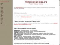 historicalstatistics.org