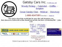 Gatsbycars.com - Gatsby Trucks Custom 4X4 Parts by CSE and Gatsby Cars.