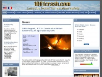 1001crash.com - 1001 Crash - Worldwide aviation safety