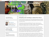 Mike Anderson's Ancient History Blog