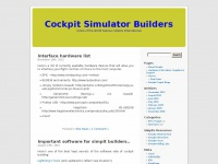Cockpit Simulator Builders