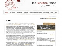 Therenditionproject.org.uk