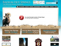BC Canada Travel Accommodations Tourism Activities - Radium Hot Springs BC Canada