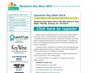 Premiere Racing, Inc. | Quantum Key West 2014: January 19 - 24, 2014