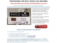 Coilmachines.com - Professionally Built Doug Coil Machines
