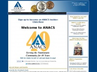 Anacs.com - ANACS - America's Oldest Coin Authentication and Grading Service
