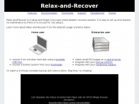 relax-and-recover.org