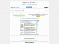 repetition-detector.com