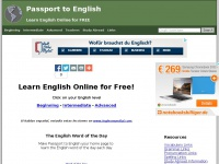 Passport to English | Learn English Online for Free