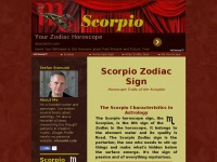 Scorpio Zodiac Sign - the Scorpio Horoscope Traits