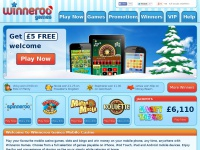 Winneroo Games Mobile Casino - Get £5 Free