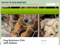 Saynotodogmeat.net