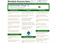 "Mentalistic Business News - ""We're all business"""