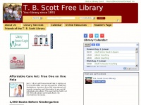 tbscottlibrary.org Thumbnail