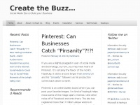 Create the Buzz... | Social Media Tips to Build your Business