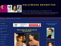 hollywoodbrunettes.com