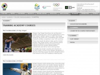 Home - ISSF Training Academy  e-learning