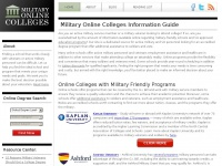 Militaryonlinecolleges.org