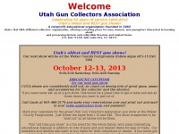 Utah Gun Collectors Association UGCA firearms history displays gun shows gunshows
