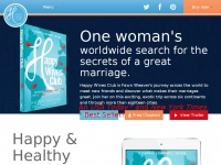 Happy Wives Club | One Woman's Worldwide Search for the Secrets of a Great Marriage