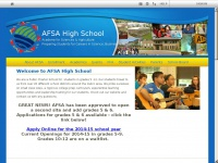 AFSA High School Home Page
