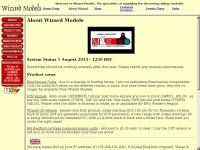 Wizard Models: Internet shop serving the discerning Railway Modeller