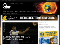 Cheshire Phoenix Basketball Club - Cheshire basketball | Official website of the Cheshire Phoenix | Chester basketball