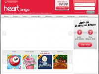 Heart Bingo | Play bingo and other online games at Heart Bingo  | Free sign up & match bonus