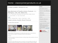 classicjoineryproducts.co.uk