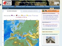Emsc-csem.org - Earthquakes - Earthquake today - Latest Earthquakes in the World - EMSC
