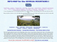Info-Map for the Georgia Mountains