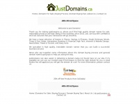 Justdomains.ca