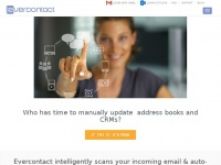 Automatic contact updates by email signature analysis Evercontact
