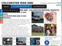 Colchestermanandavan.co.uk