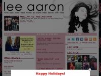 Lee Aaron | The Official Lee Aaron Web Site