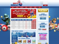 Brits Bingo UK | Play FREE BINGO GAMES Online and Win Real Money!