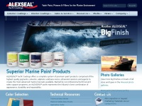 Alexseal.com - Alexseal Yacht Coatings: Yacht Paint, Primers & Fillers for the Marine Environment | Alexseal Yacht Coatings
