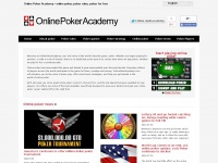 Online Poker Academy - online poker, poker rules, poker for free