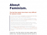 Aboutfeminism.me