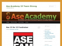 Ase Academy 15 Years Strong   Celebrate With Us!