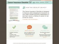 cancerinsurancechecklist.org Thumbnail