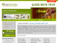 maxlocksmithleyton.co.uk Thumbnail