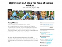 i3j3Cricket :: A blog for fans of Indian cricket... | India-India-India Jai-Jai-Jai (i3j3)