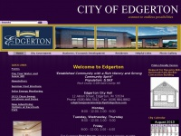 cityofedgerton.com