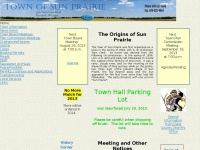 townofsunprairie.info