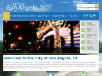 City of San Angelo, TX : Home
